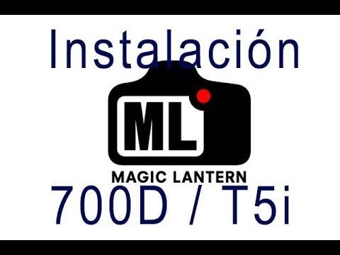 Instalación Magic Lantern 700D / T5i. Activar RAW. Doblejotafoto