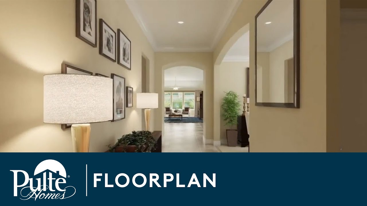 New Homes By Pulte Homes The Darden Floorplan