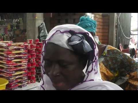 Kopeme Group - meeting with borrowers in Nukafu market - part three