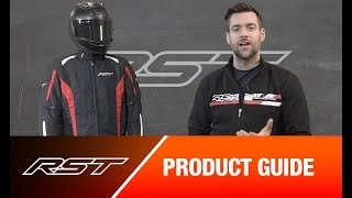 Black RST 102976 Frontier CE Textile Jacket