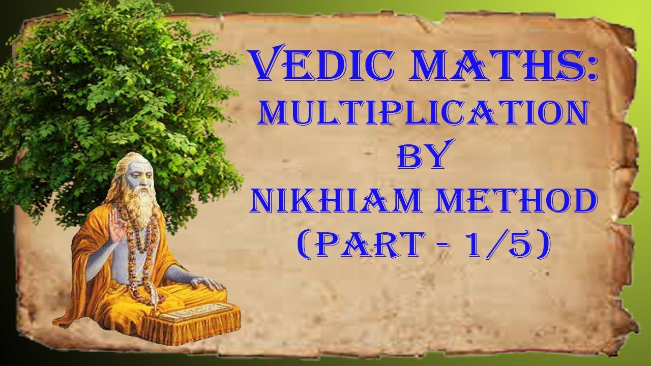 Learn vedic maths