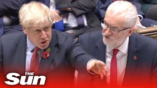 Fighting talk as MPs debate General Election motion