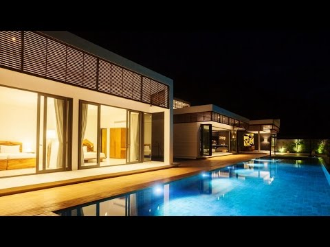 Exclusive Private Luxury Residence in Koh Samui Island, Thailand (by Sicart & Smith Architects)