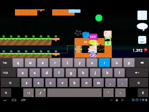 Growtopia : How To Teleport On GT Using On Android