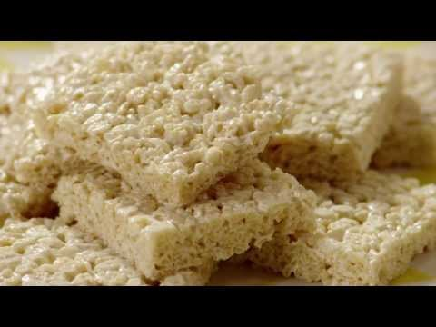 How to Make Marshmallow Crispy Bars | Snack Recipe | Allrecipes.com