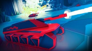 Battlezone VR Tanks - PlayStation VR Gameplay