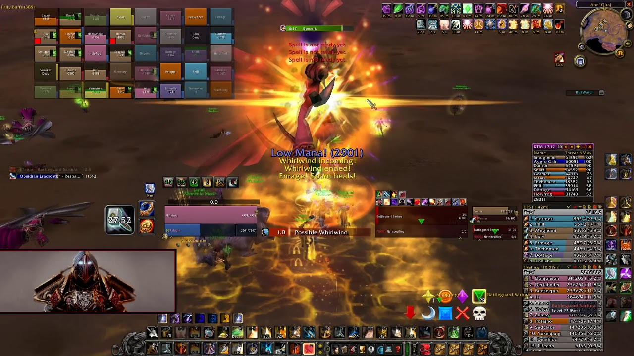 Serious Disscussion on Paladin Tanking  - Page 12 • WoW Classic