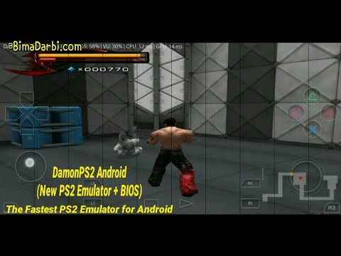 PS2 Android) Tekken 5 | DamonPS2 Pro Android | The Fastest