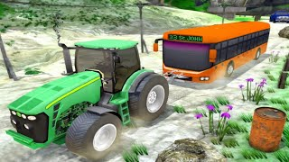 Tractor Pull Simulator Drive: - Tractor Game 2020 |  Android Gameplay screenshot 3