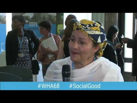 """WHO: Sustainable Development Goals (Part 1) - Interview at """"World Health +SocialGood"""""""