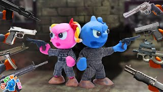 Tiny's Spy Mission Is Compromised - Class Act Stop Motion Animation Cartoons