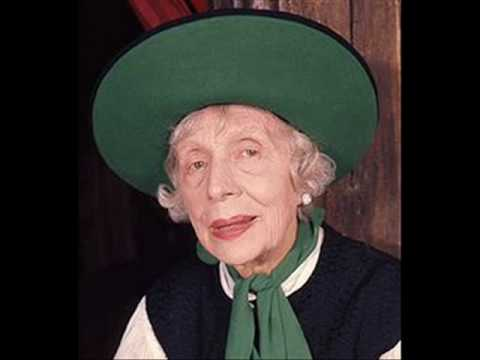 Edith Evans reads Lewis Carroll's 'You are Old Father William' from Alice in Wonderland