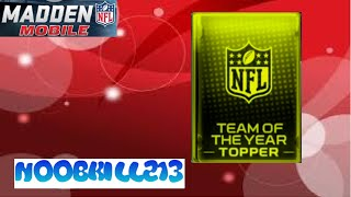 Madden Mobile Team of The Year Bundle