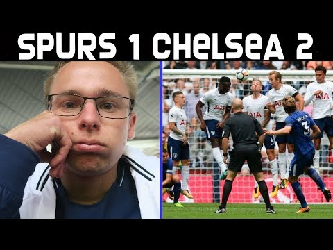 TOTTENHAM 1 CHELSEA 2!! MARCOS ALONSO FREEKICK! WEMBLEY CURSE? - LIVE MATCHDAY EXPERIENCE