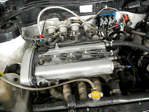 Toyota 4age 20 Valve Engine Idle