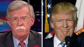 John Bolton and Donald Trump, From YouTubeVideos