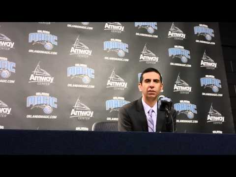 James Borrego Portland Trail Blazers Postgame Interview
