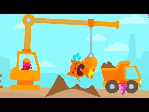 Fun Sago Mini Games - Monster Kids Fun Fairytale Home Construction With Sago Mini Trucks And Diggers