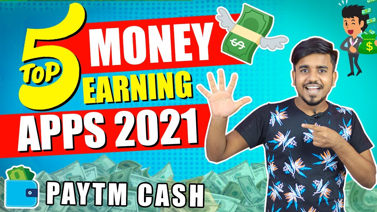 TOP 5 Money Earning Apps In 2021 || Refer & Earn ₹50,000 Paytm Cash Without Investment |GoogleTricks