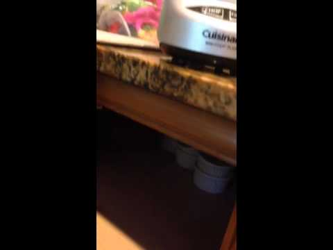 Baby proof lazy susan - YouTube