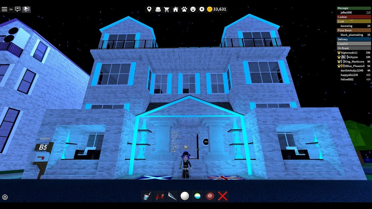 Design Roblox Work At A Pizza Place House Ideas Roblox Work At A Pizza Place Million Dollar Homes Kirkyzzo Youtube