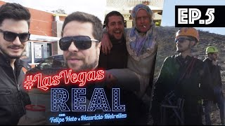 LAS VEGAS REAL EP 05 - Tirolesa no Canyon, 1 milhão de dólares no Cassino e break em Vegas!