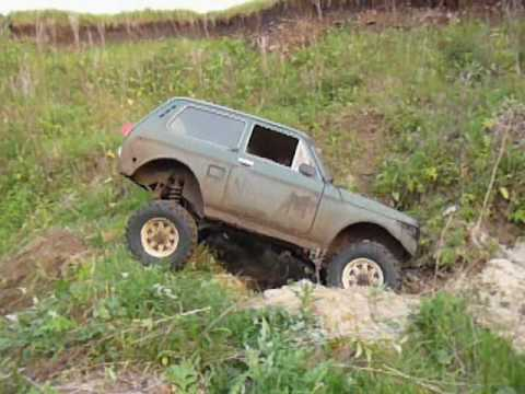lada niva trial offroad youtube. Black Bedroom Furniture Sets. Home Design Ideas
