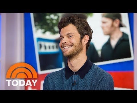 Jack Quaid Talks About 'Logan Lucky,' Seeing A Band With Daniel Craig | TODAY