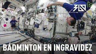 'Space 360': Los cosmonautas rusos practican bádminton en ingravidez