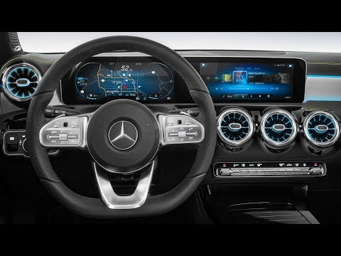 Mercedes Next-Gen Cockpit – 2018 Mercedes A-Class Interior preview
