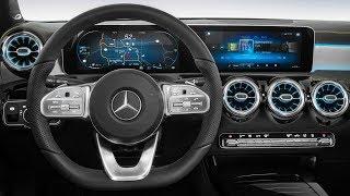 Mercedes Next Gen Cockpit 2018 Mercedes A Class Interior preview смотреть