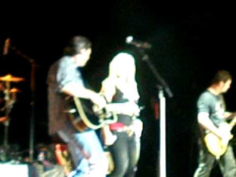 Blake Shelton and Miranda Lambert -