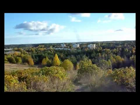Overview of Turku from Luolavuori hill