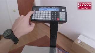 Фасовочные весы для магазина: цена, настройка и принцип работы с 1С