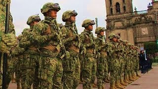 AMAZING! Mexican Military Parade 2018