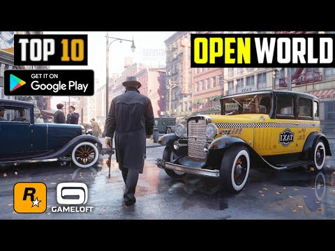 10 Best OPEN WORLD Games By Rockstar And Gameloft For Android 2020   HIGH GRAPHICS