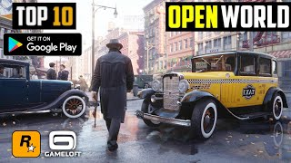 10 Best OPEN WORLD Games by Rockstar and Gameloft for Android 2020 | HIGH GRAPHICS