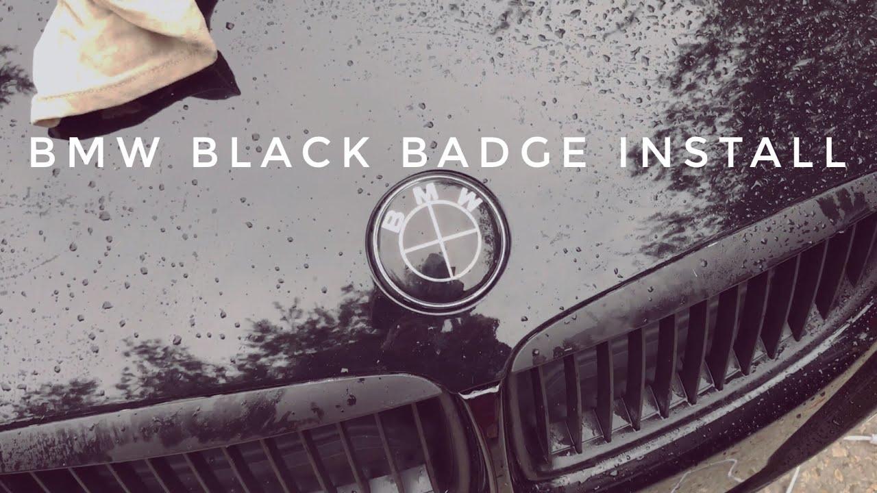 Bmw Black Badge Install Youtube