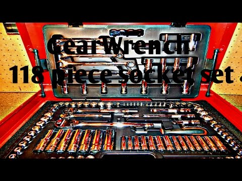 GearWrench 118pc socket set review