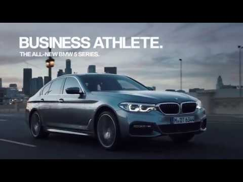 2018 5 Series Bmw Commercial Business Athlete Scott Eastwood