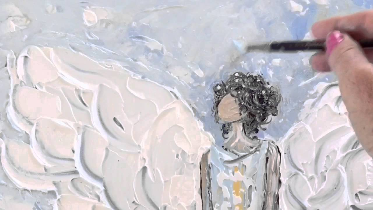 Artist Christine Krainock Original Abstract Palette