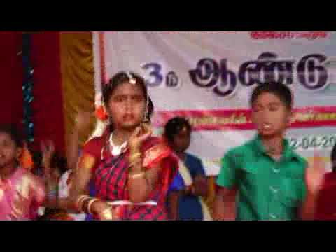 Thanjavur urumi melam song Mela sakkudi primary school annual day 02-04-2018