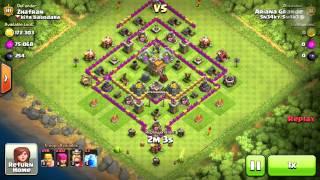 Clash Of Clans   Harbarian Raid