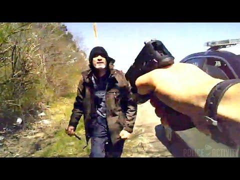 Bodycam Video Shows Knife-Wielding Man Shot By Ohio Policeman