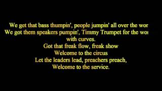 Timmy Trumpet freaks karaoke version