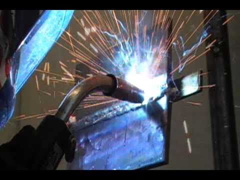 How To Weld A 2g Mig Bend Test Plate Part 2 Youtube