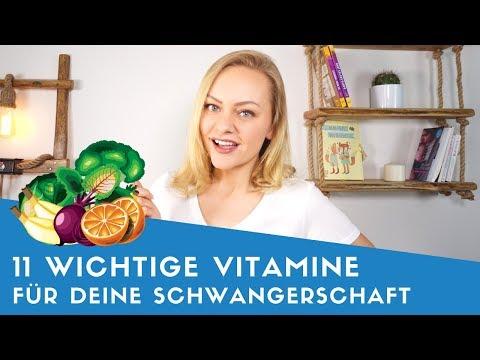 ▶ Diese 11 Vitamine Und Mineralstoffe Sind In Der Schwangerschaft Wichtig