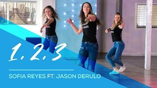 1, 2, 3 - Sofia Reyes ft Jason Derulo - Easy Fitness Dance Video - Choreography