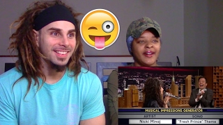 Wheel of Musical Impressions with Alessia Cara - REACTION