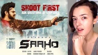 SAAHO Trailer | Prabhas, Shraddha Kapoor | REACTION!!! | Indi Rossi